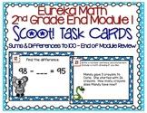 Eureka Math 2nd Grade Module 1 Review Task/Boom™ Cards Dis