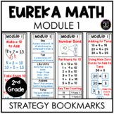 Eureka Math Second Grade Module 1 Strategy Bookmarks and H