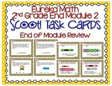Eureka Math Second Grade Module 2 Review Scoot Task Cards