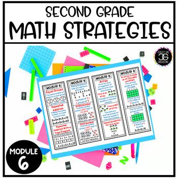 Eureka Math Second Grade Module 6 Strategy Bookmarks and Homework Helper