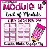 Eureka Math Engage NY Second Grade Module 4 Assessment Review Task Cards