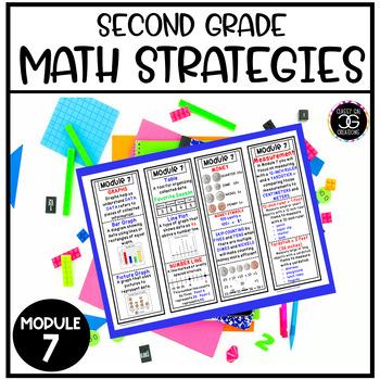 Eureka Math Second Grade Module 7 Strategy Bookmarks and Homework Helper