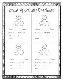 Eureka Math Spiral Review FREEBIE - Third Grade