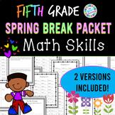 Eureka Math Spring Break Packet - 5th Grade Spiral Review