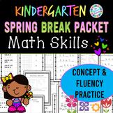 Eureka Math Spring Break Packet - Kindergarten Spiral Review