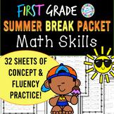 Eureka Math Summer Break Packet - 1st Grade Spiral Review