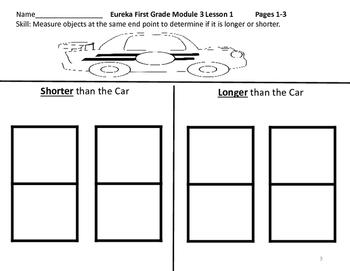 Eureka Math Supplement Grade 1 Module 3