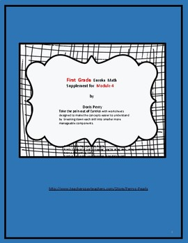 Eureka Math Supplement  Grade 1 Module 4