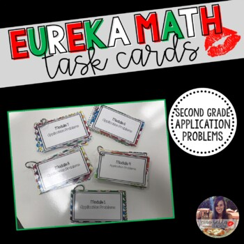 Eureka Math Task Cards - Second Grade