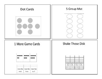 Eureka Math Fluency Template Preview Cards