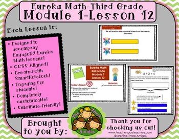 M1L12 Eureka Math - Third Grade: Module 1- Lesson 12 Smartboard Lesson