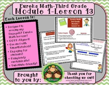 M1L13 Eureka Math-Third Grade: Module 1-Lesson 13 SmartBoa