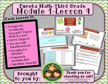 M1L09 Eureka Math-Third Grade: Module 1-Lesson 9 SmartBoar