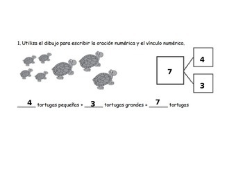 Eureka Math, Unit 1, Lesson 10 in Spanish