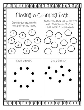 Eureka Math Winter Break Packet - Kindergarten Spiral Review