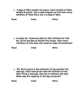 Eureka Math Word Problems Practice