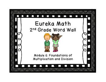 Eureka Math EngageNY 2nd Grade Word Wall: Module 6
