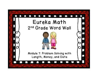 Eureka Math EngageNY 2nd Grade Word Wall: Module 7