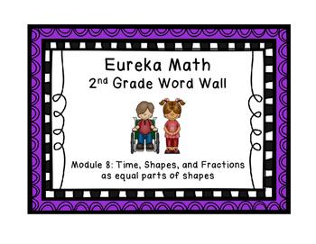 Eureka Math EngageNY 2nd Grade Word Wall: Module 8