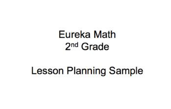 Eureka Math (Zearn) Planning Sample