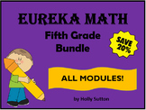 PPT Lessons for Eureka Math (Engage NY) Fifth Grade Bundle- ALL MODULES