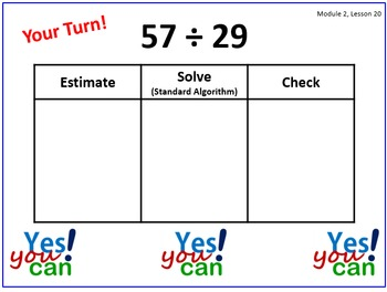 PPT Lessons for Eureka Math (Engage NY) Fifth Grade Module 2 Lessons 16-29