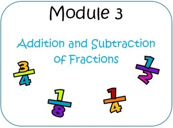 Eureka Math (aka Engage New York) Fifth Grade Module 3 JUS
