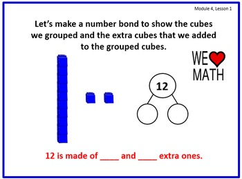 PPT Lessons for Eureka Math (Engage NY) First Grade Bundle- ALL MODULES!