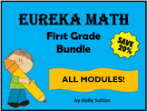 PPT Lessons for Eureka Math (Engage NY) First Grade Bundle