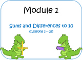 PPT Lessons for Eureka Math (Engage NY) First Grade Module