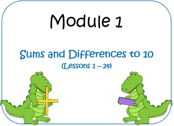 Eureka Math (aka Engage New York) First Grade Module 1 Les