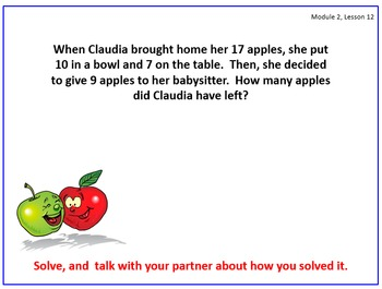 PPT Lessons for Eureka Math (Engage NY) First Grade Module 2 Lessons 12-29