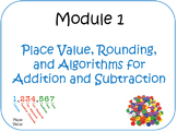 PPT Lessons for Eureka Math (Engage NY) Fourth Grade Module 1