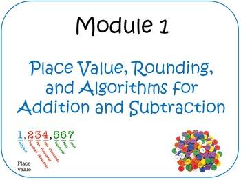Eureka Math (aka Engage New York) Fourth Grade Module 1