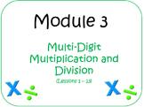 PPT Lessons for Eureka Math (Engage NY) Fourth Grade Module 3 Bundle