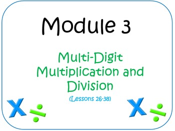 PPT Lessons for Eureka Math (Engage NY) Fourth Grade Module 3 Lessons 26-38