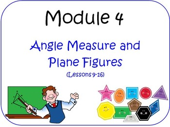 PPT Lessons for Eureka Math (Engage NY) Fourth Grade Module 4 Bundle
