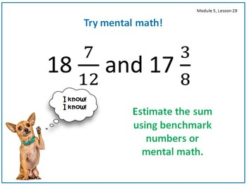 PPT Lessons for Eureka Math (Engage NY) Fourth Grade Module 5 Lessons 22-41