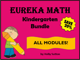 PPT Lessons for Eureka Math (Engage NY) Kindergarten Bundle ALL MODULES