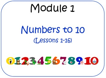 Eureka Math (aka Engage New York) Kindergarten Module 1 Le