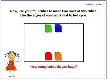 PPT Lessons for Eureka Math (Engage NY) Kindergarten Module 1 Lessons 17-37