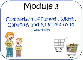 PPT Lessons for Eureka Math (Engage NY) Kindergarten Module 3 Lessons 1-15