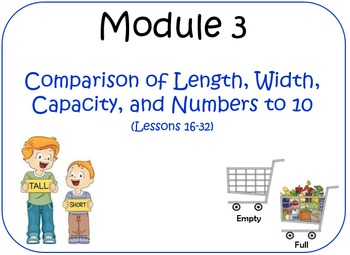 Eureka Math (aka Engage New York) Kindergarten Module 3 Le