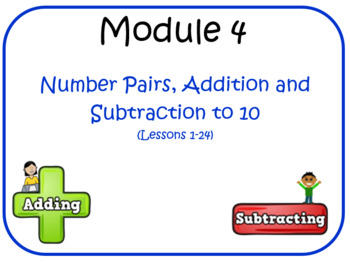 Eureka Math (aka Engage New York) Kindergarten Module 4 Le