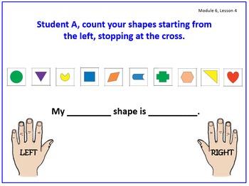 PPT Lessons for Eureka Math (Engage NY) Kindergarten Module 6
