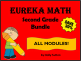 PPT Lessons for Eureka Math (Engage NY) Second Grade Bundle- ALL MODULES!