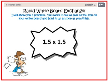 PPT Lessons for Eureka Math (Engage NY) 6th Grade Bundle- ALL MODULES
