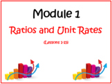 PPT Lessons for Eureka Math (Engage NY) Sixth Grade Module 1 Lessons 1-15