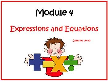 Eureka Math (aka Engage New York) Sixth Grade Module 4 Les