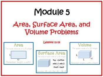 Eureka Math (aka Engage New York) Sixth Grade Module 5 Les